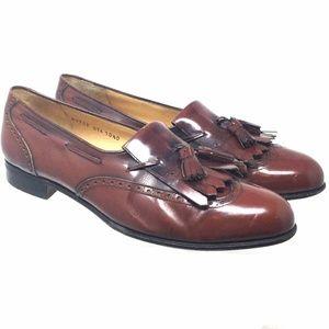 Salvatore Ferragamo Women Shoes Sz Us 10.5D Loafer